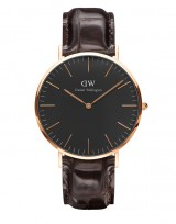 Daniel Wellington DW00100128 Classic Black 40mm York