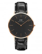 Daniel Wellington DW00100129 Classic Black 40mm Reading