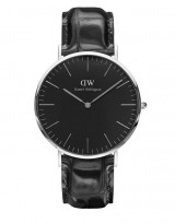 Daniel Wellington DW00100135 Classic Black 40mm Reading zilver