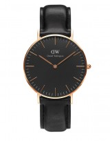 Daniel Wellington DW00100139 Classic Black 40mm Sheffield rose