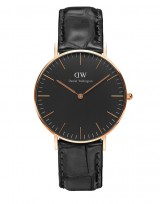 Daniel Wellington DW00100141 Classic Black 36mm Reading
