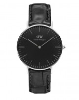 Daniel Wellington DW00100147 Classic Black 36mm Reading zilver