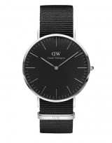 Daniel Wellington DW00100149 Classic Black 40mm Cornwall zilver